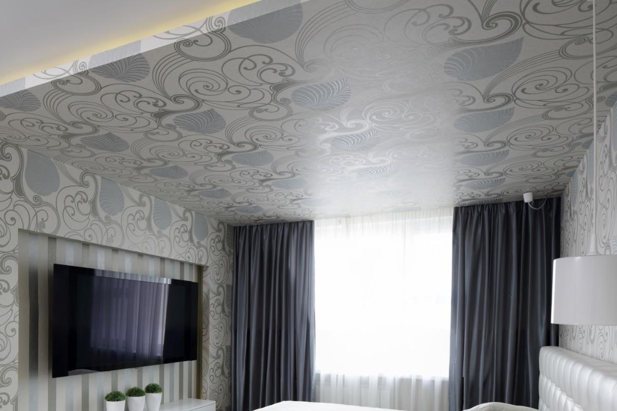 bedrukt spanplafond